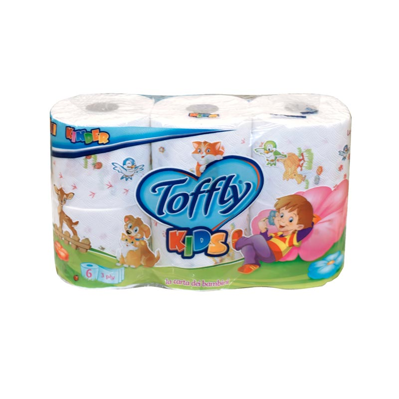 Papel Higiénico 30 Toffly kids