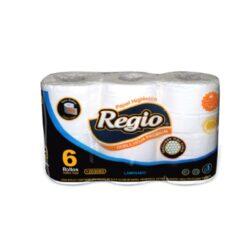 Papel Higiénico Regio                               6 Rollos  D/H