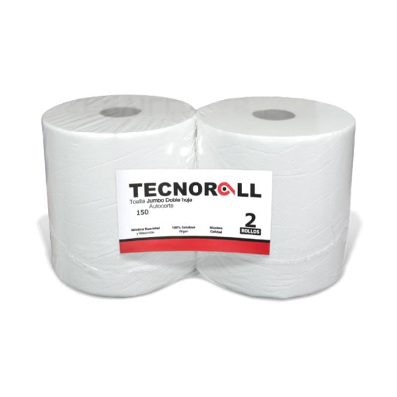 Toalla Papel Jumbo              150 mts x 2 D/H  Tecnoroll